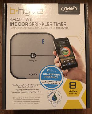 Orbit b hyve 8 Station Smart WiFi Indoor Sprinkler Timer. for Sale in Los Angeles, CA