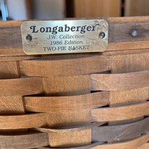 Longaberger Collectors 1986 Pie Basket for Sale in Corrales, NM