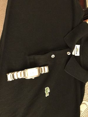 Men's LaCoste polo and watch for Sale in Burke, VA
