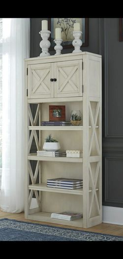 Bolanburg White/Oak Large Bookcase | H647 for Sale in Silver Spring,  MD