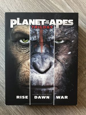 Planet of the Apes Trilogy Blu Ray for Sale in Bremerton, WA