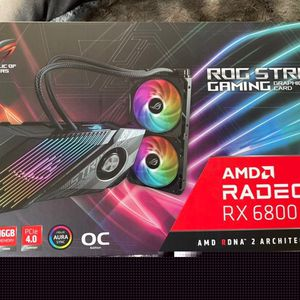 ASUS ROG STRIX Radeon RX 6800 XT Ultimate ROG-STRIX-LC-RX6800XT-O16G for Sale in New York, NY