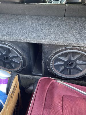 Kicker cvr's with box for Sale in Chicago, IL