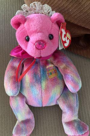 "Ty Beanie Baby ""January"" Birthday Bear for Sale in Long Beach, CA"