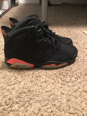 """Air Jordan Retro 6 """"Infrared"""" for Sale in Youngstown, OH"""