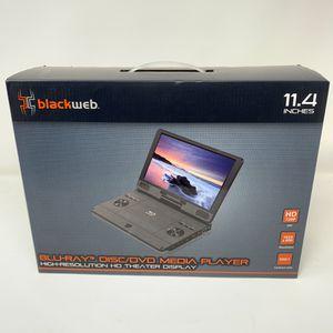 "Blackweb Portable Blu-ray / DVD Player HD 11.4"" screen w/ USB for Sale in Sewickley, PA"