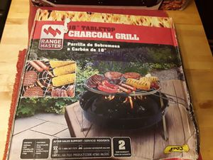 """18"""" Tabletop charcoal grill for Sale in Aurora, IL"""