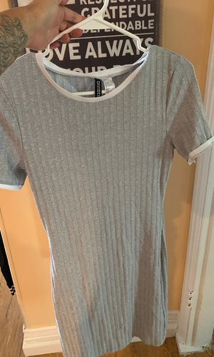 Light Gray and White Dress for Sale in Houston, TX
