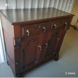 Antique Cabinet/server for Sale in Asbury Park, NJ