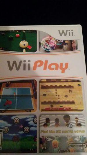 Wii PLAY (Nintendo Wii + Wii U) for Sale in Lewisville, TX