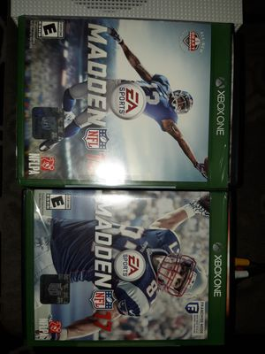 Madden Xbox One Games for Sale in Glendale, AZ