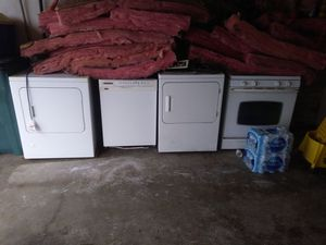 2 Dryers, Dishwasher & Stove for Sale in Detroit, MI