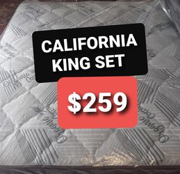 CALIFORNIA KING REGULAR MATTRESS AND BOX SPRING for Sale in Fresno,  CA