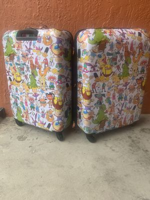 Retro luggage nick 90's for Sale in Port Richey, FL