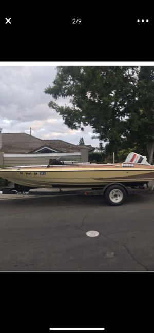19 foot boat Glastron Carlson for Sale in San Diego, CA