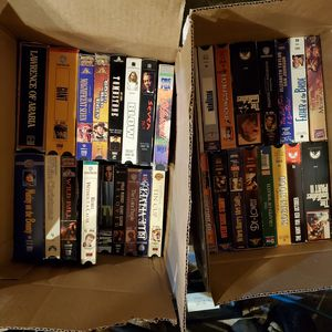 100+ VHS TAPES MOVIES MIX GENRES for Sale in Sterling Heights, MI