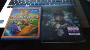 3D Bluray and DVD Turbo and The Hobbit Battle of the Five Armies for Sale in Chula Vista, CA