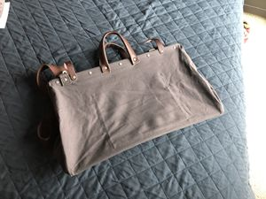 Weekend Duffle Bag (Military Style) - Dark Grey for Sale in San Francisco, CA
