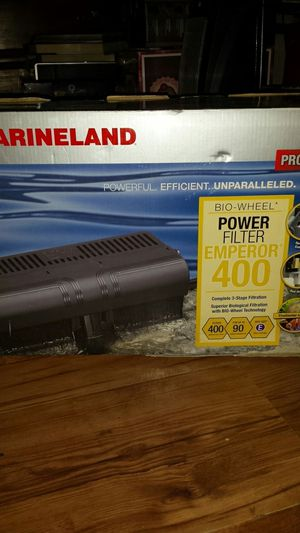 New Marineland power aquarium filter for Sale in St. Louis, MO