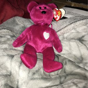 Valentina Beanie Baby Collectible With Error for Sale in Woodbridge, VA
