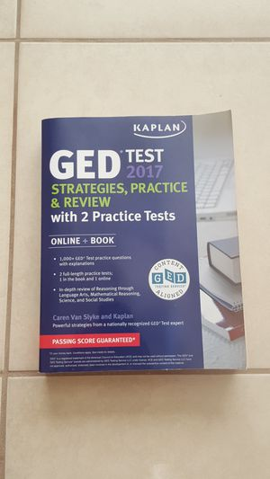 GED TEST PREP BOOK for Sale in Avon Park, FL