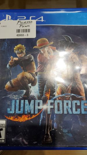 Jump Force ( ps4 ) for Sale in Raleigh, NC