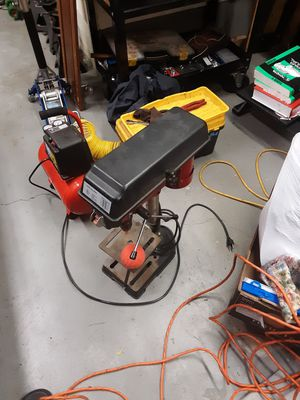 Drill Press with Bits for Sale in Portland, OR
