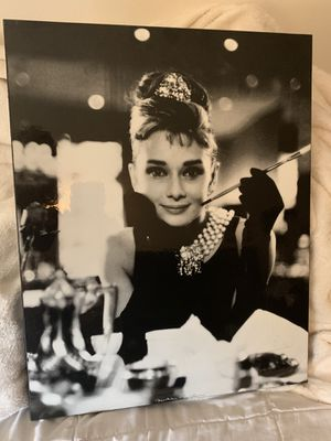 Young Audrey Hepburn movie vintage style Hollywood picture for Sale in Santa Ana, CA