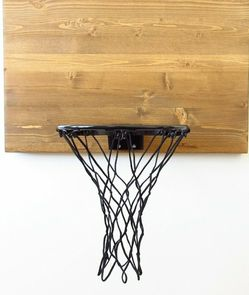 Wood Wall Mount Basketball Hoop for Sale in San Diego,  CA