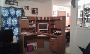 """""""L"""" Shaped Wooden Desk for Sale in Enterprise, AL"""