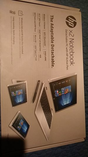 hp x2 notebook detachable with hp active pen for Sale in San Lorenzo, CA