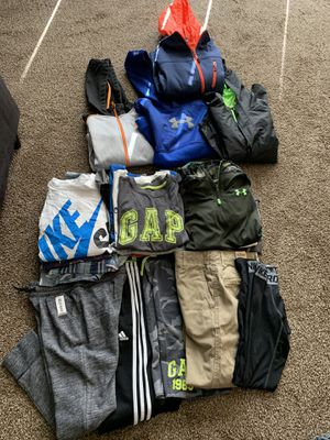 Kids BOYS Size 10/12 clothing bundle tops& bottoms for Sale in Glendale, AZ