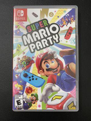 Super Mario Party (Nintendo Switch) for Sale in San Bernardino, CA