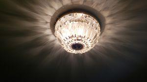Set of 3 Glass Light fixtures for Sale in Arlington, VA