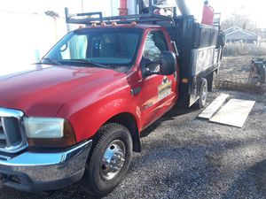 2002 7.3 Ford diesel dually flatbed for Sale in Wentzville, MO