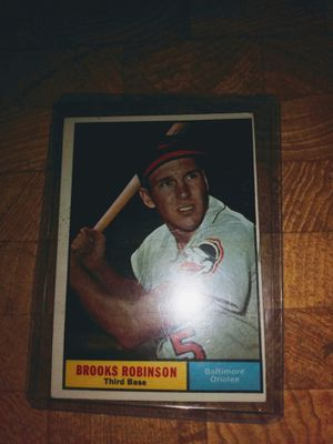 61 Topps Brooks Robinson!!!Nice!! for Sale in Post Falls, ID