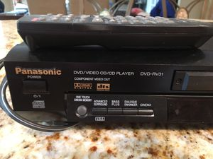 Panasonic DVD/CD Player for Sale in Englishtown, NJ