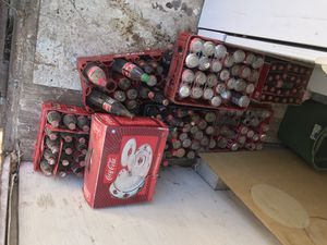 Seven cases of old Coca-Cola bottles for Sale in Orcutt, CA