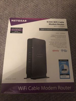 Router modem for Sale in Durham, NC