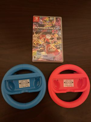 MarioKart for Nintendo Switch and wheels for Sale in Roanoke, TX