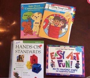 4 great elementary teacher books for Sale in Smyrna, TN