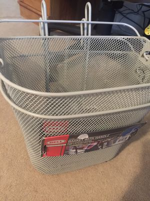 Basket with handle for bikes or whatever you would like to use it for for Sale in Dublin, GA
