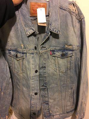 Levi jean jacket new size xxl 2xl for Sale in Bronx, NY