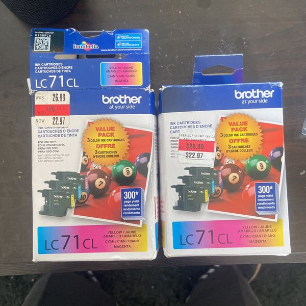 Brother Lc 71cL Cartridge For Printer I Got 2 New