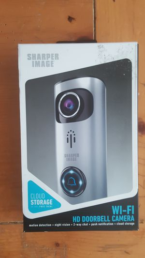 Sharper Image HD Doorbell WiFi Camera_(New) Never Opened for Sale in Poway, CA