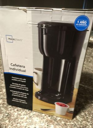 Mainstays Single Serve Coffee Maker for Sale in Los Angeles, CA