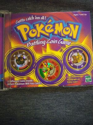 Pokemon Battling Coin Game for Sale in Fayetteville, GA