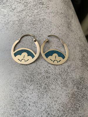 Sterling silver earrings for Sale in Eagle Lake, FL