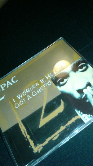 "2pac single ""I wonder if heaven got a ghetto"" for Sale in Anaheim, CA"
