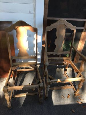 Unfinished Antique/Vintage Chairs for Sale in Baltimore, MD